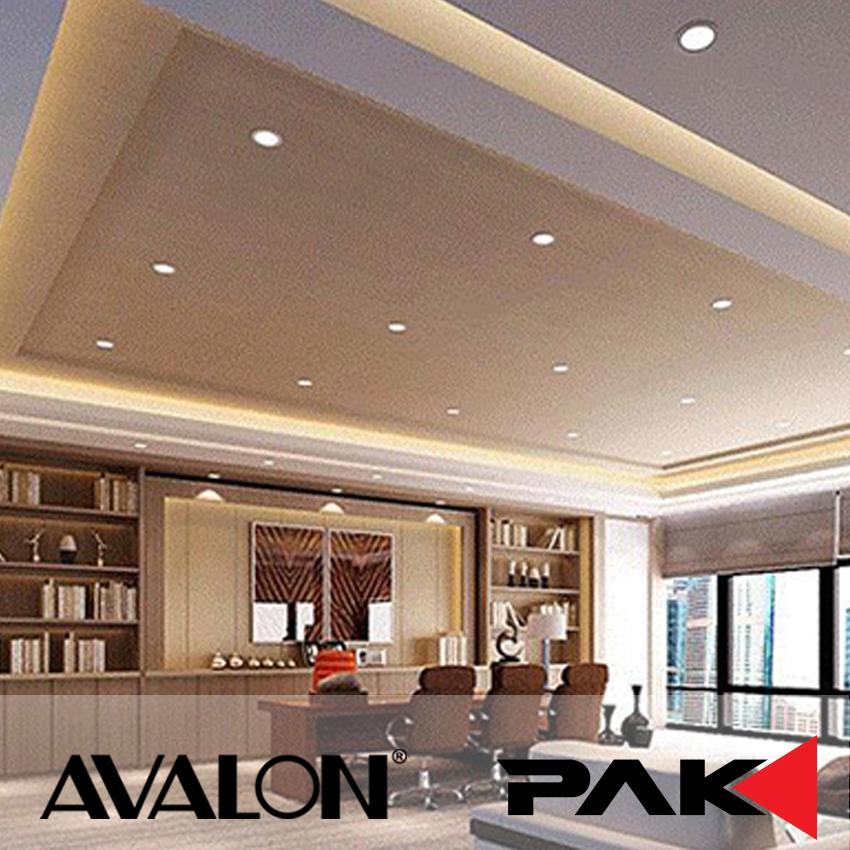 kitchen down lighting. Avalon PAK Decorative Ceiling Recessed Down Lighting 15W For Bedroom, Kitchen (PAK-LED-SQ-12W-30K) (Warm White) E